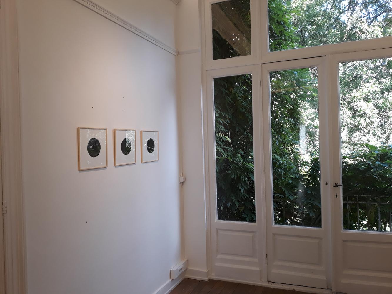 2018 – « Le cercle noir » – Galerie Faider – Bruxelles
