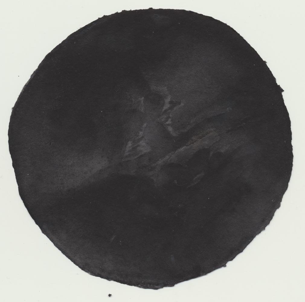 Aquarelle sur papier pur chiffon 250g - Ø 15 cm - 2017/2019