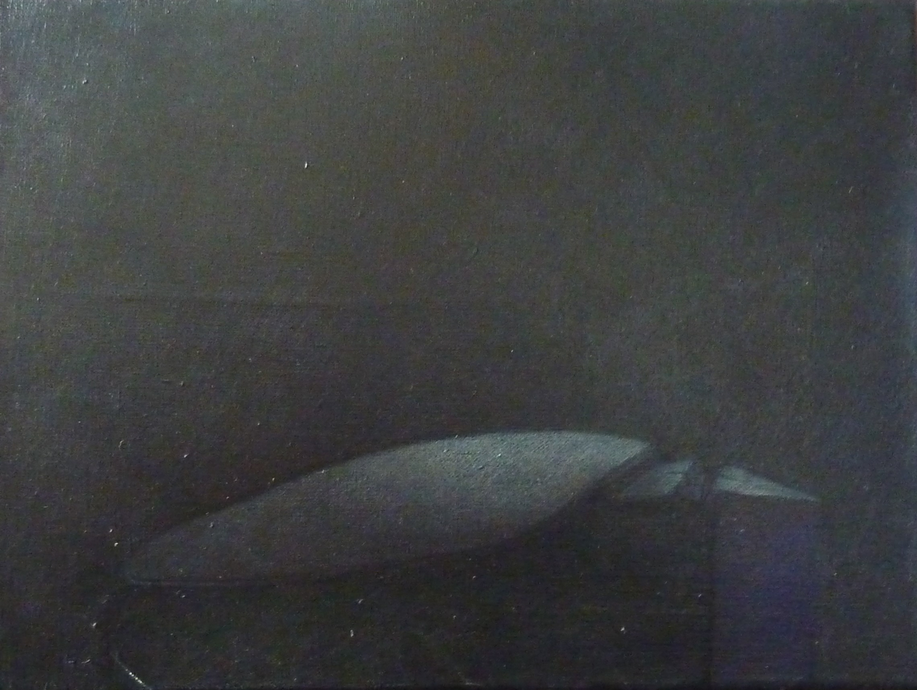 Techniques mixtes sur toile de Lin -  30 x 40 cm - 2015